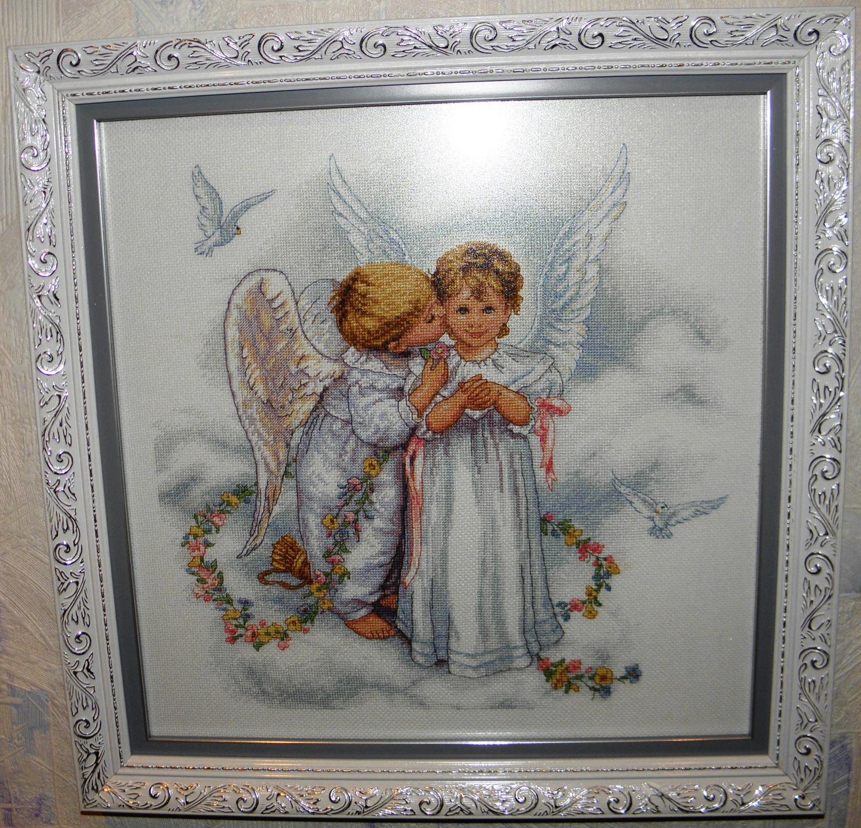 Поцелуй ангела вышивка