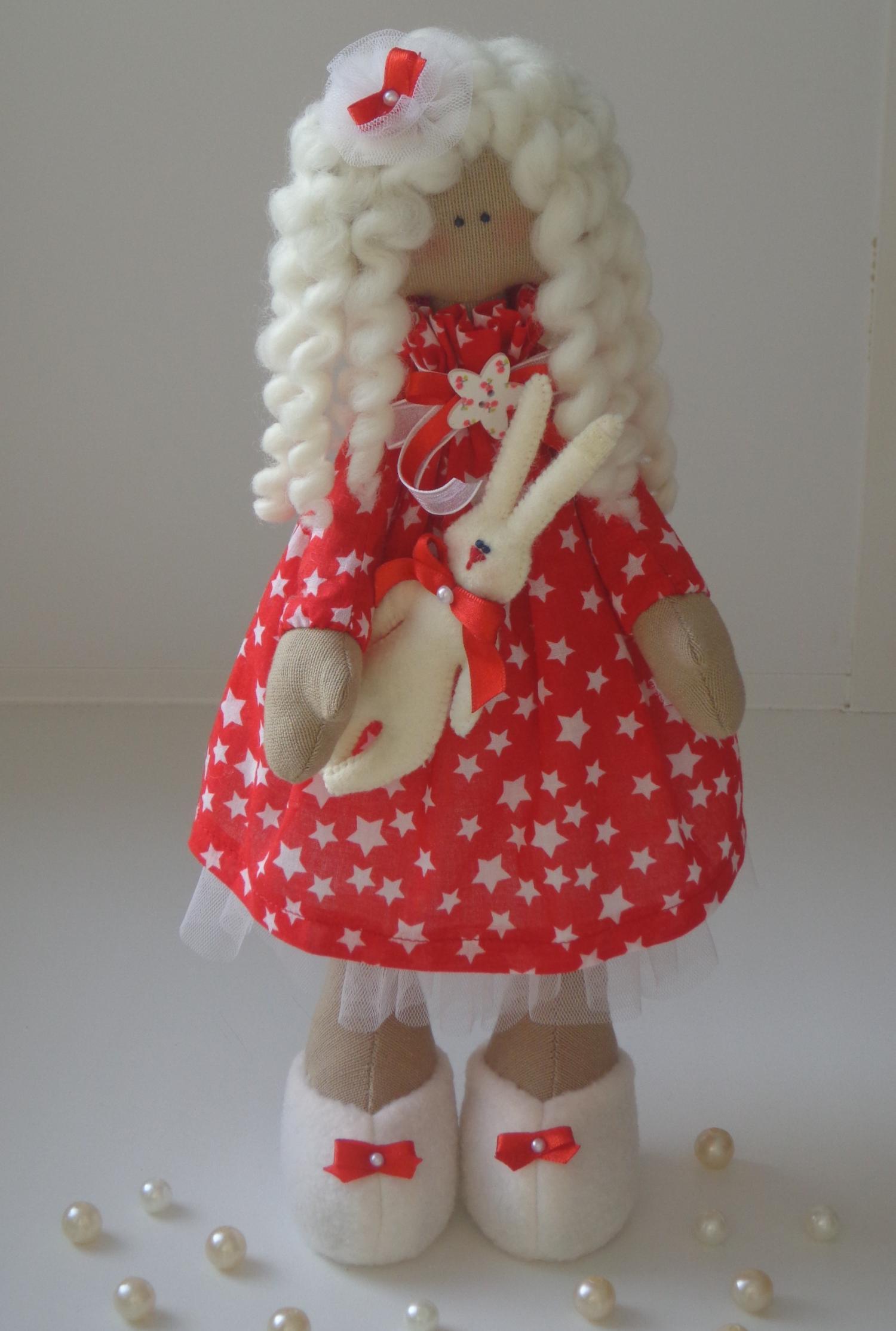 Сердечко для куклы снежки
