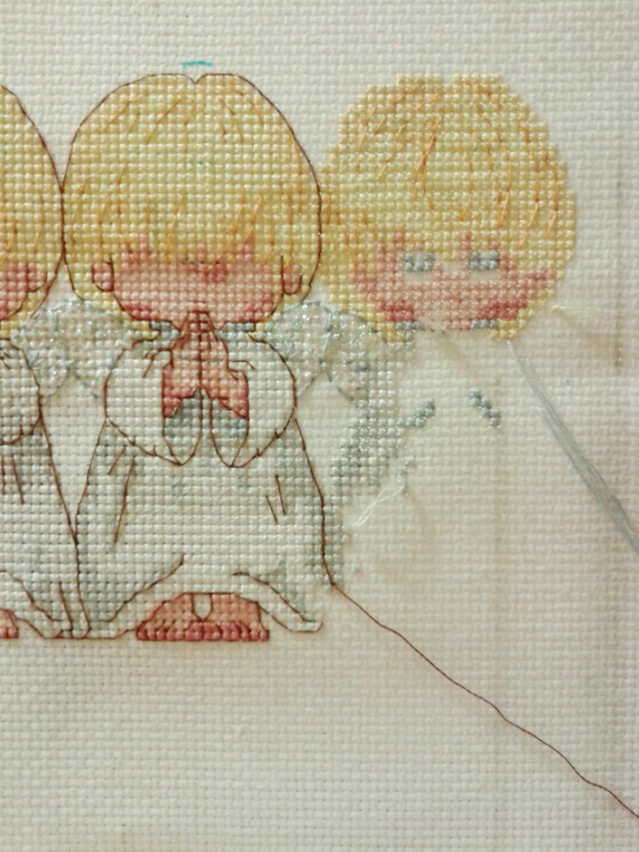 Вышивка крестиком схемы маков 34