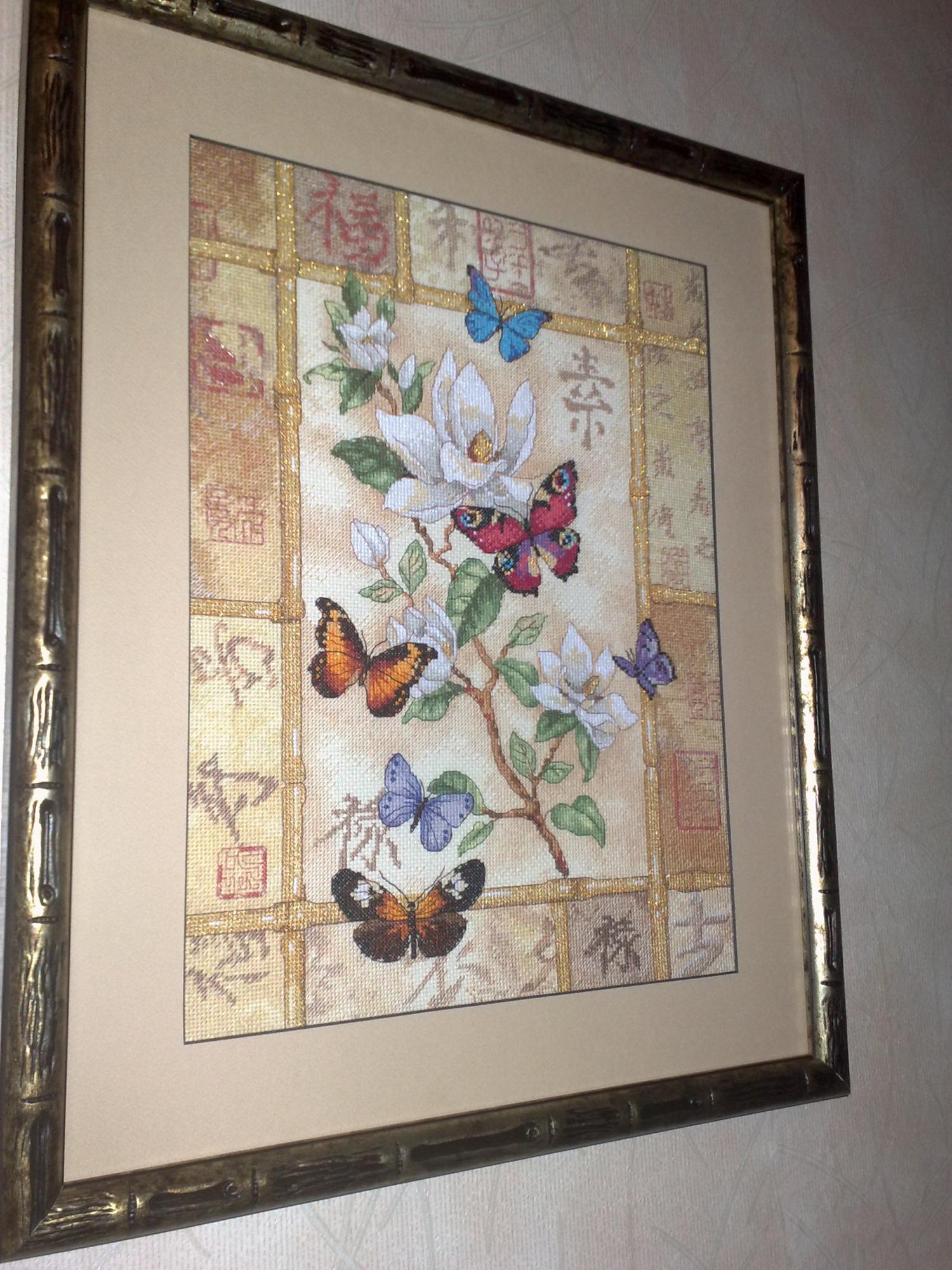 торжество сверкающих бабочек схема