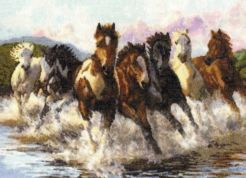 Running Horse Oil Painting Running Horse Oil Painting