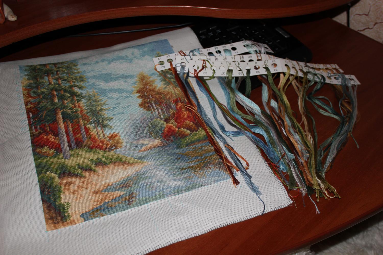 Вышивка подбор ниток 22