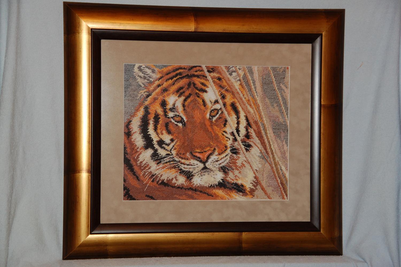 Тигр вышивка алиса в