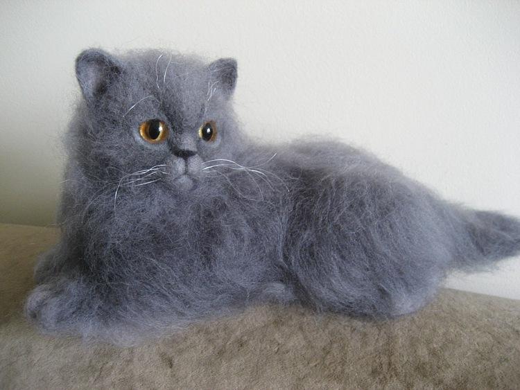 Британские котята игрушки своими руками 48