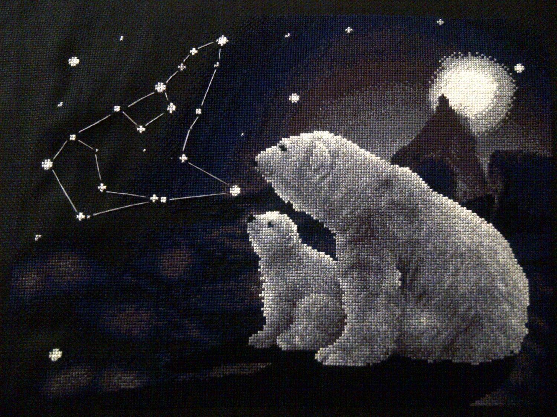 Вожусь, открытка большая медведица