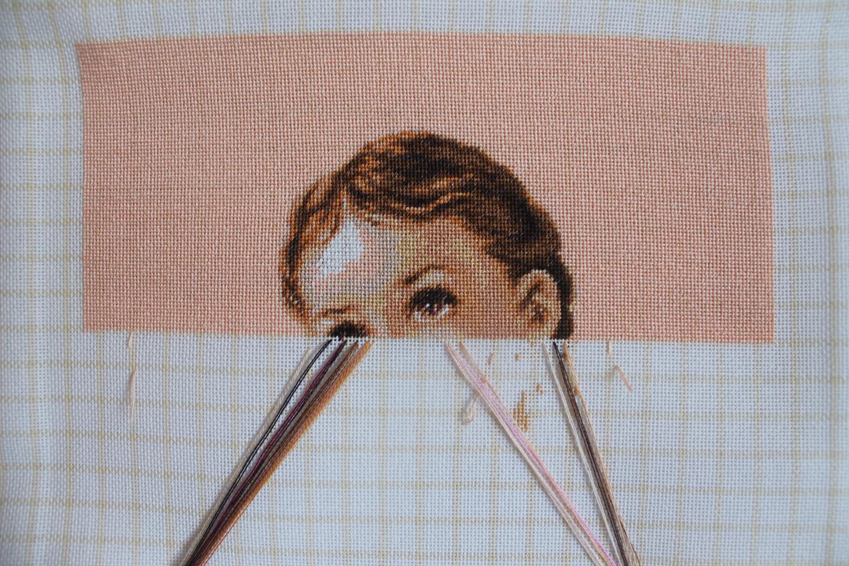 Виды стежков, или как правильно вышивать крестиком 21