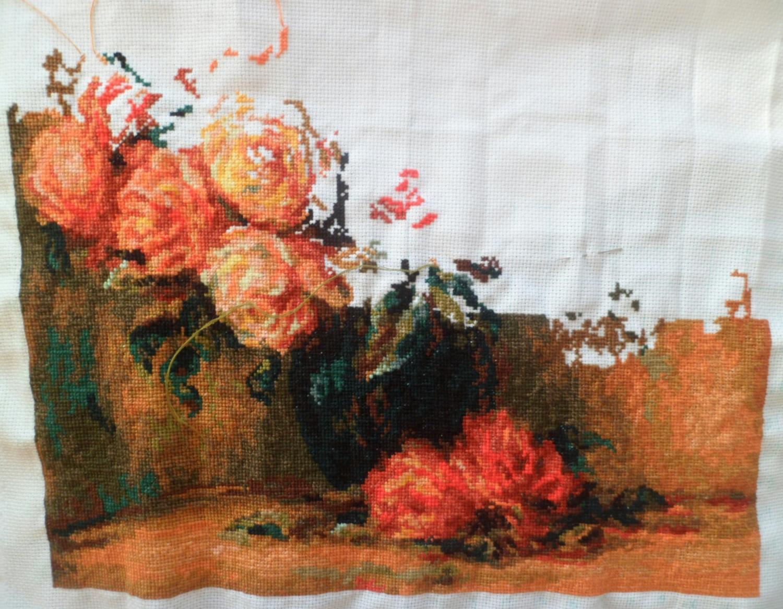 Вышивки по мотивам картин ренуара