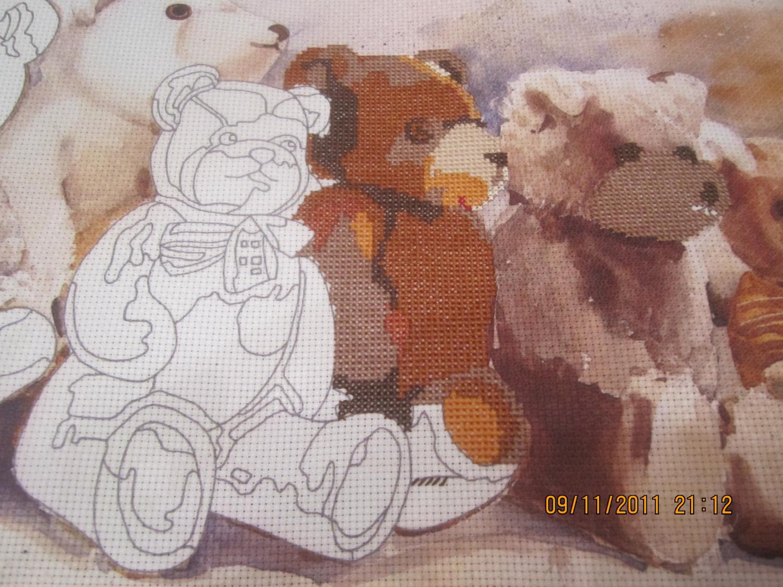 Как стирать вышивку с рисунком на канве