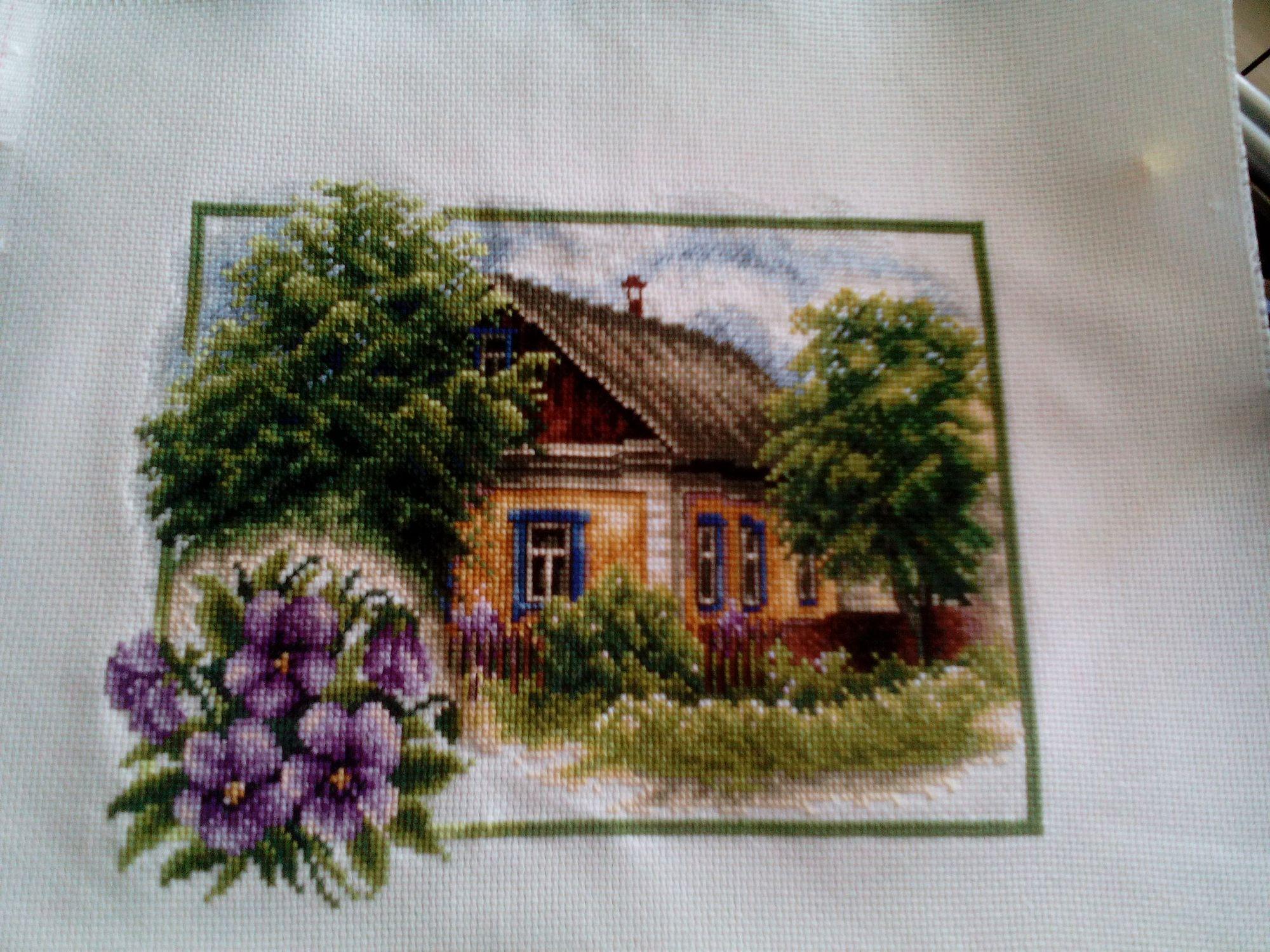 Купить Набор для вышивания крестом 91