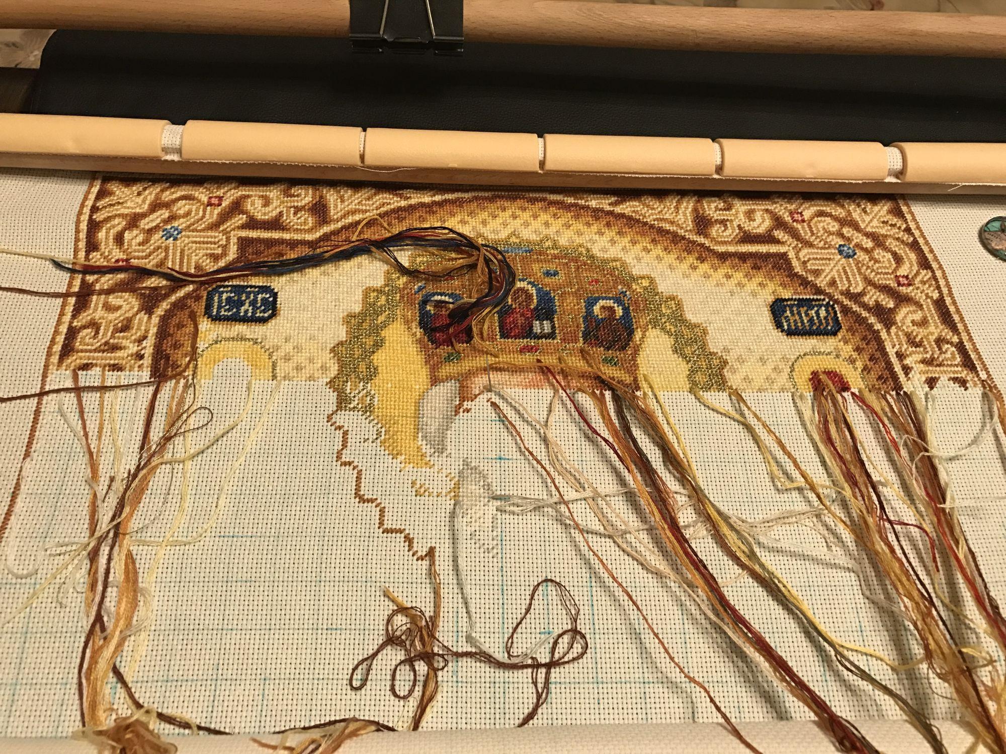 вышивка крестом схема царевна-лебедь стоянки ивановой