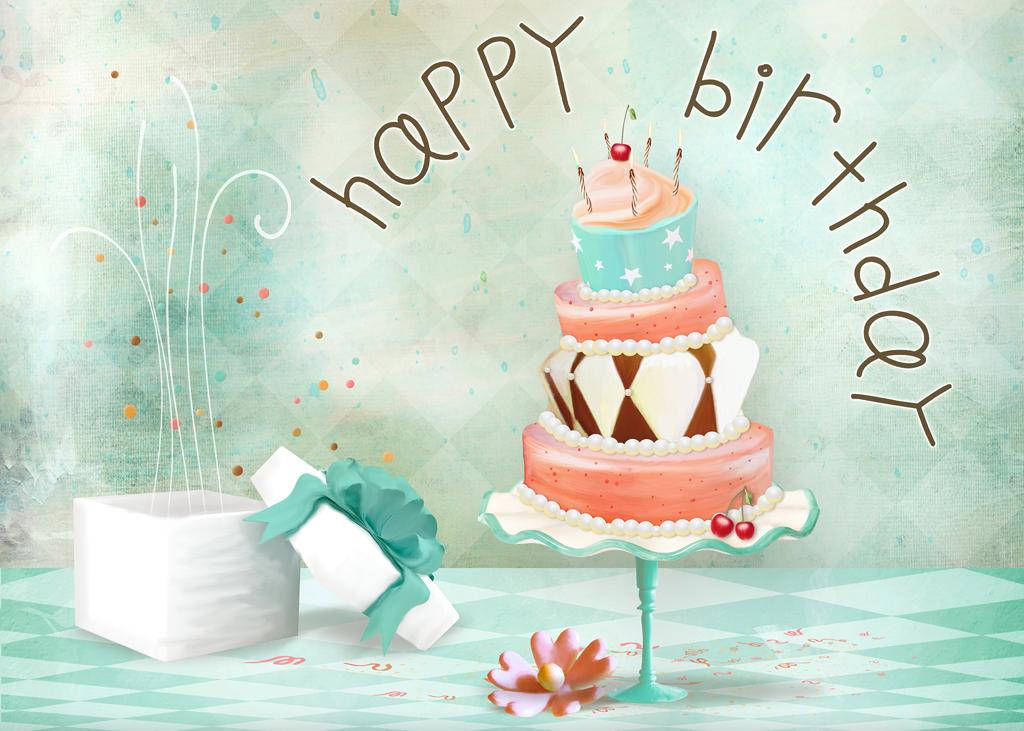яркие стильные открытки с днем рождения режимы