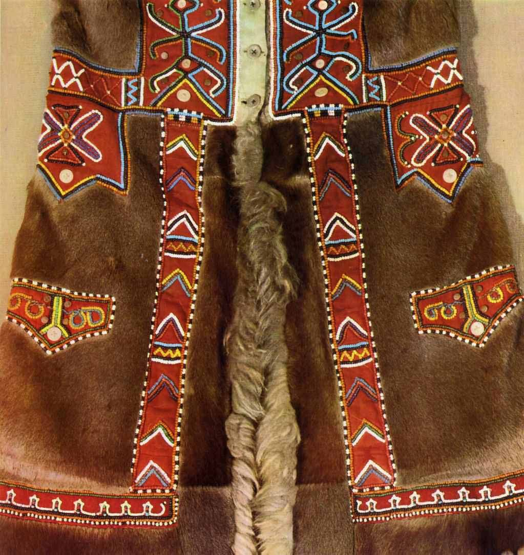 вышивка коренного населения дв самых