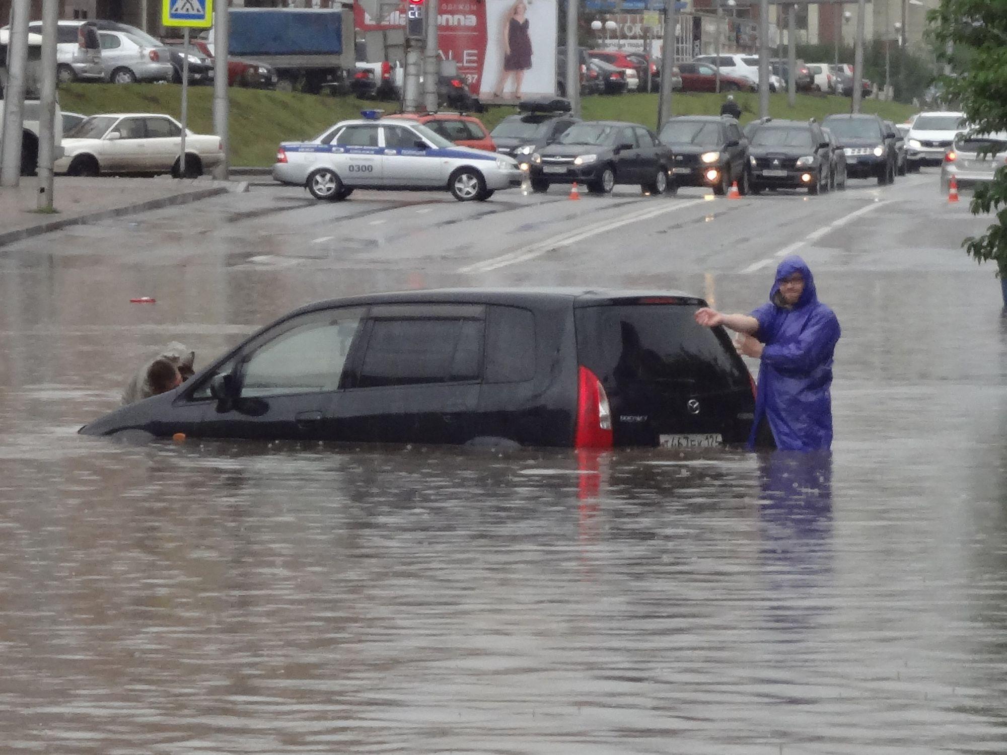 дождь в красноярске сегодня фото организовывали