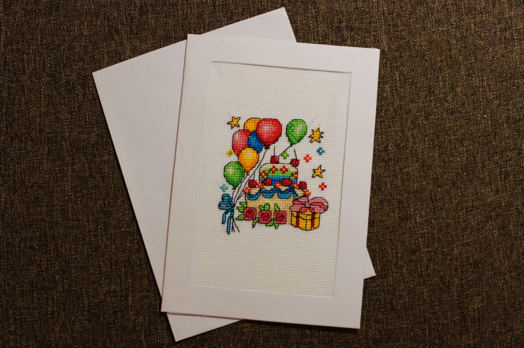 Бабушке день, почтовые открытки с домиком