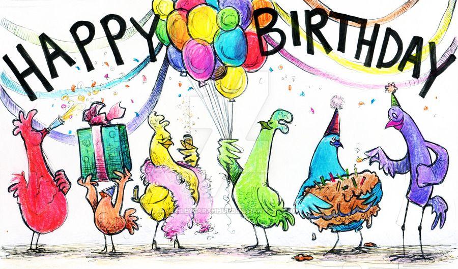 Картинки с днем рождения птичка моя, картинки